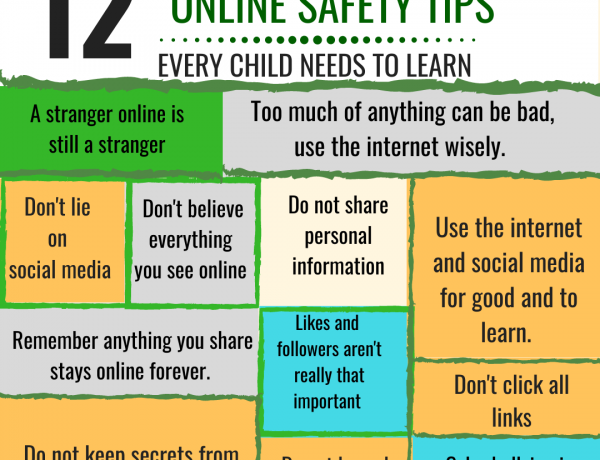 12 online safety tips for children
