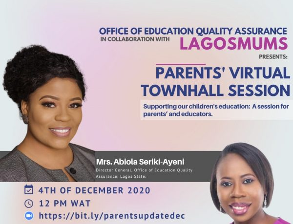 Parents virtual townhall session