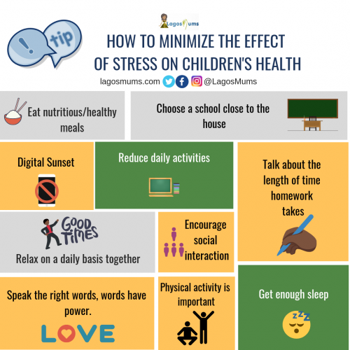 How to Minimize the Effect of Stress on Children's Health