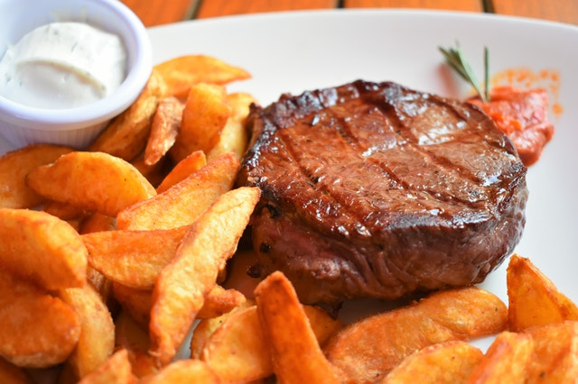 recipe grilled steak with fries