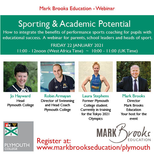 Sports and Academic Potential Webinar