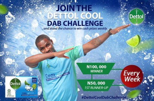 Dettol cool dab challenge