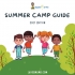 Summer Camp Guide 2021 LagosMums Edition